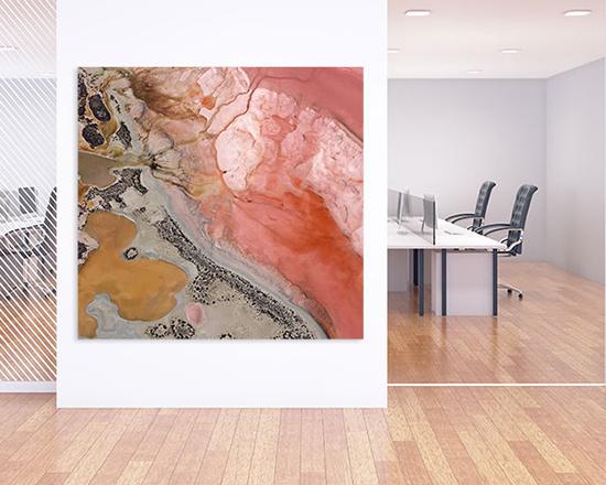 Schallschutz Büro mit Kunst kombinieren