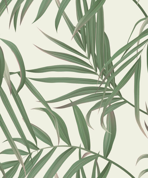 "Akustikbild mit Urban-Jungle-Design ""Palm"" - individualisierbar"