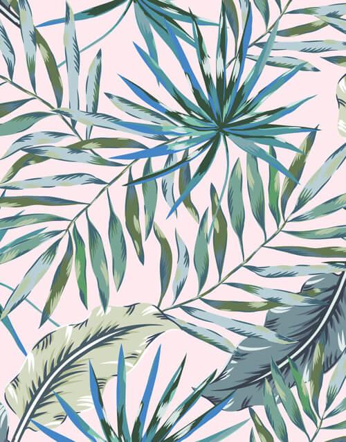 "Akustikbild mit Urban-Jungle-Design ""Jungle"" - individualisierbar"
