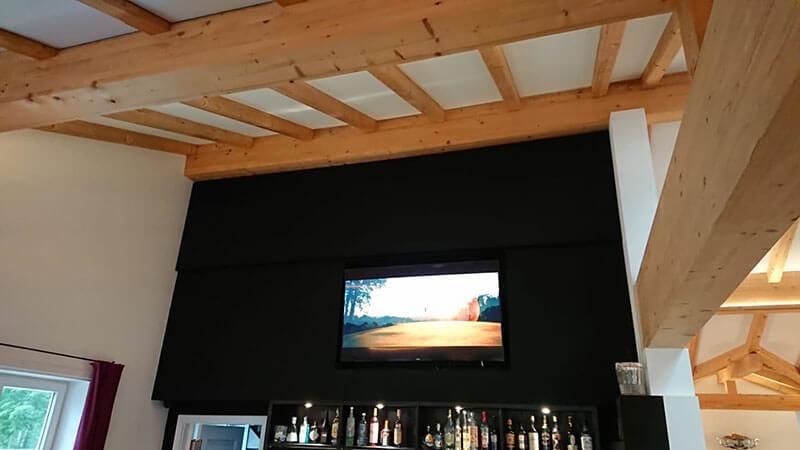 Akustikplatten Decke und Wand auf Maß