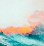 "Akustikbild mit Motiv ""Wild Sea"""