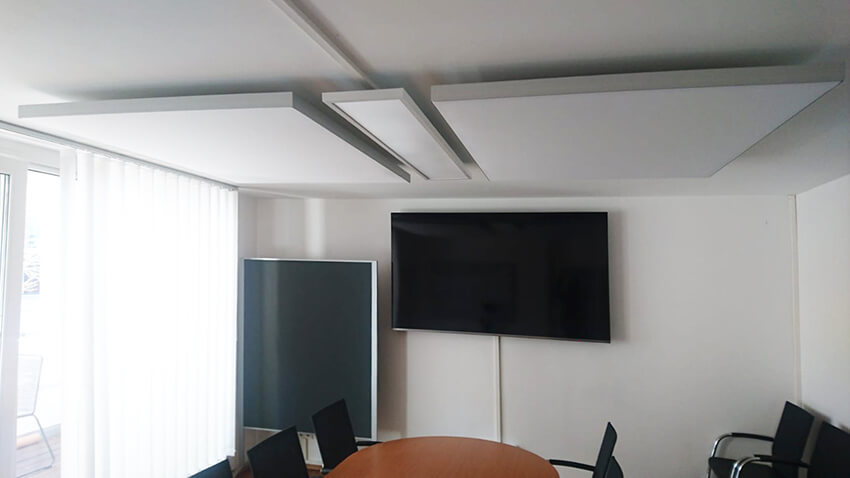 Akustiklösungen Großraumbüros