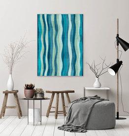 """Akustikbild Design """"Kelp""""  anpassbar"""