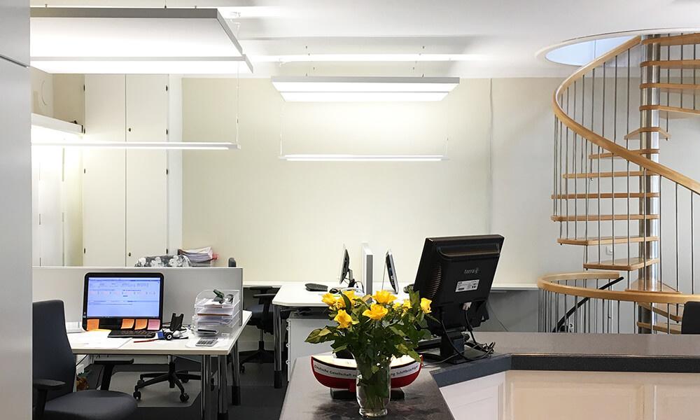 Schallschutz Büro - Schalldämmung Decke