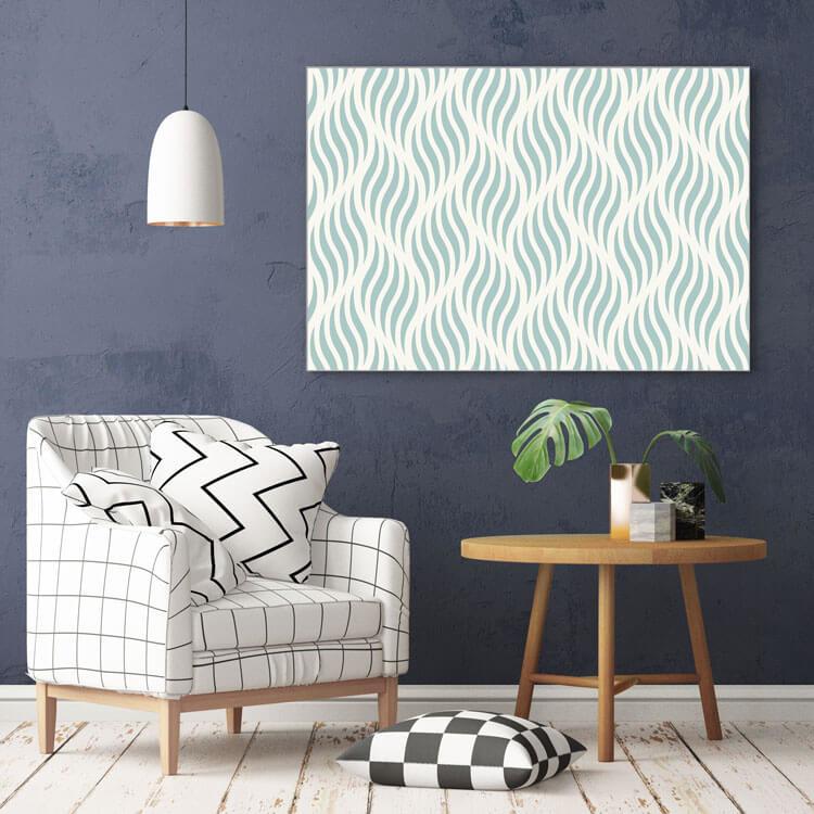 """Akustikbild mit Design """"Fabric"""" - Farben anpassbar"""