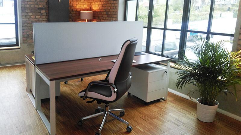 Akustik Schreibtisch Trennwand