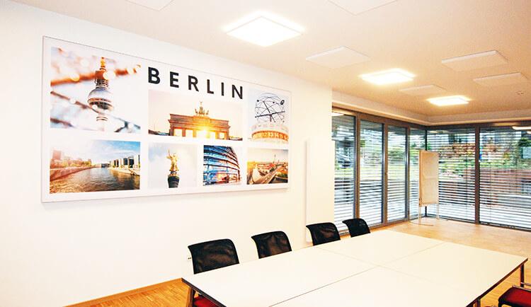 Akustikbilder eigene Motive Corporate Design