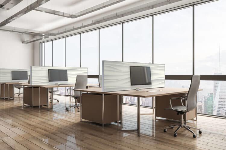 Trennwände Büros mit Design