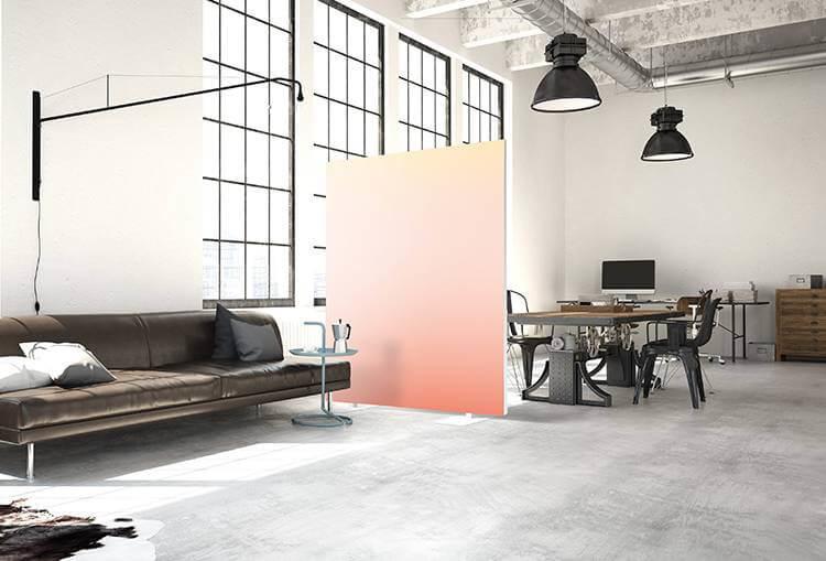 Akustik Raumteiler Farben