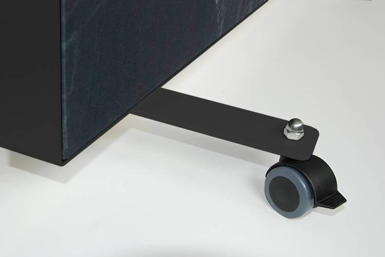 Akustik Raumteiler Rollfüße