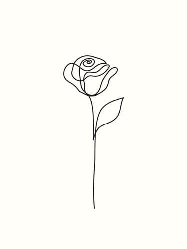 "Akustikbild mit Design ""Rose"""