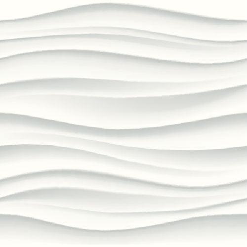 """Akustik Baffel mit Design """"Waves"""""""