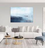 """Akustikbild """"Fischerboot am Hafen"""""""