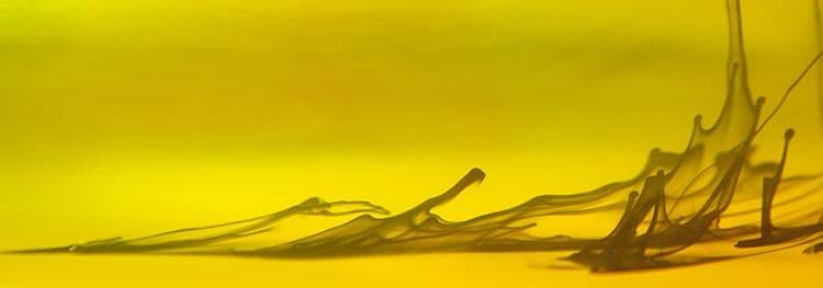 """Akustikbild mit Motiv """"Yellow Storm"""""""