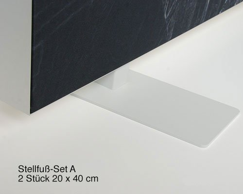 "Akustik Raumteiler mit Kunstmotiv ""Abstract Organics lll"""