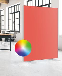 Akustik Trennwände Büro in allen Farben