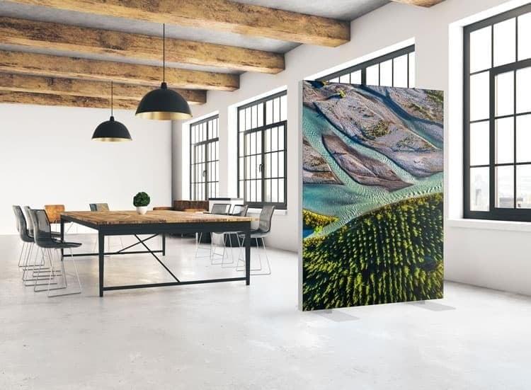 Raumteiler Ideen für moderne Büroeinrichtung