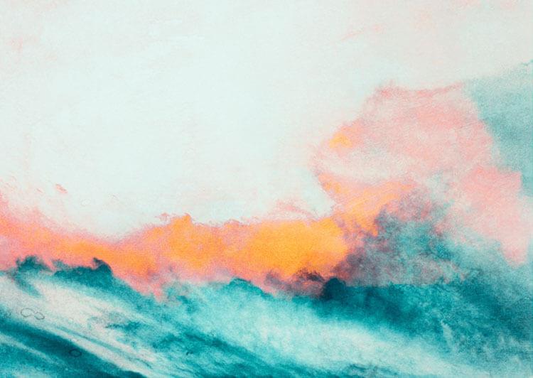 "Leinwandprint ""Wild Sea"" - ohne Akustikdämmung"