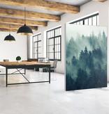 """Akustik Raumteiler mit Kunstmotiv """"Forest"""""""