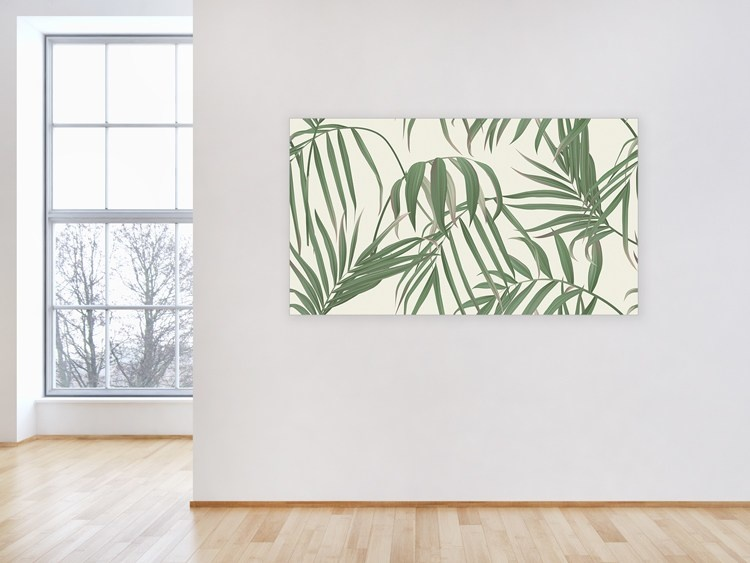"Akustikbild mit Urban-Jungle-Design ""Palm"""