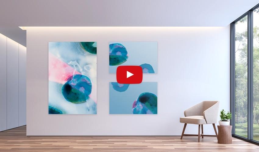 Akustikbilder mit Kunst