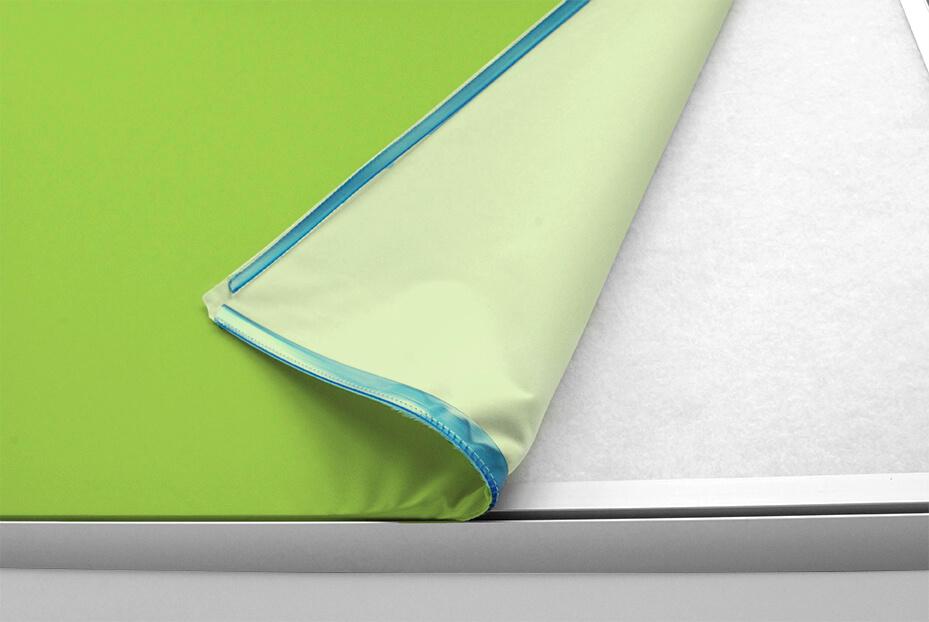 Deckensegel weißer Rahmen, Format 3:4