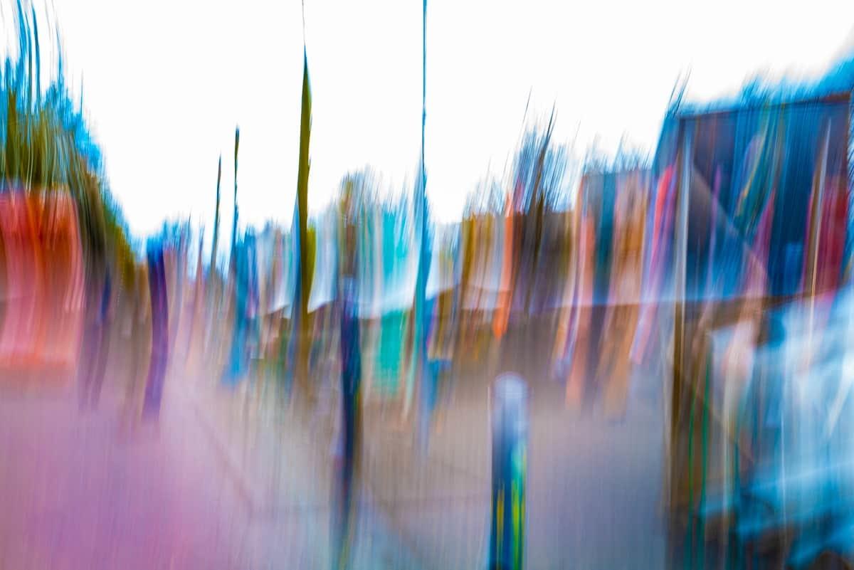 """Akustikbild mit Kunstmotiv """"Marktplatz IV"""""""