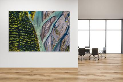 Akustik Bilder für Büros und Wohnräume mit limitierter Kunst