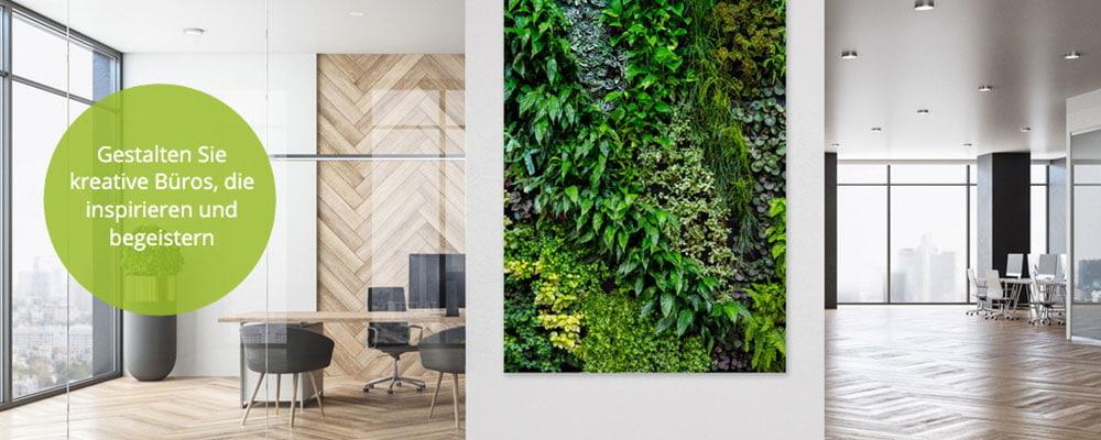 Büroräume inspirierend und wertschätzend gestalten