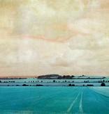 Akustikbild inkl. Motiv Blue Landscape