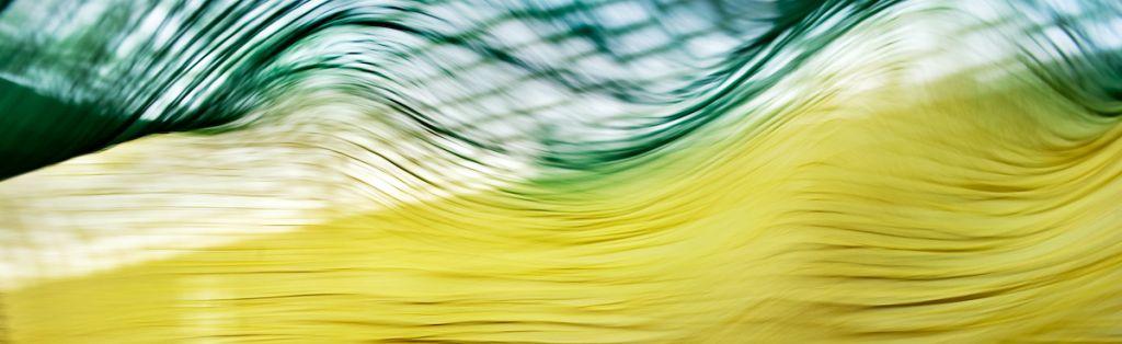 """Akustikbild mit Motiv """"Flow 20"""" - Panorama-Format"""