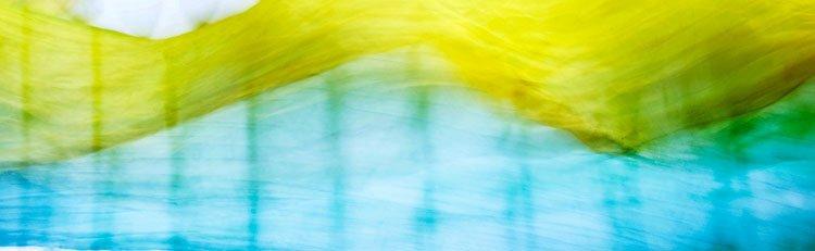 """Akustikbild mit Motiv """"Flow 15"""" - Panorama-Format"""