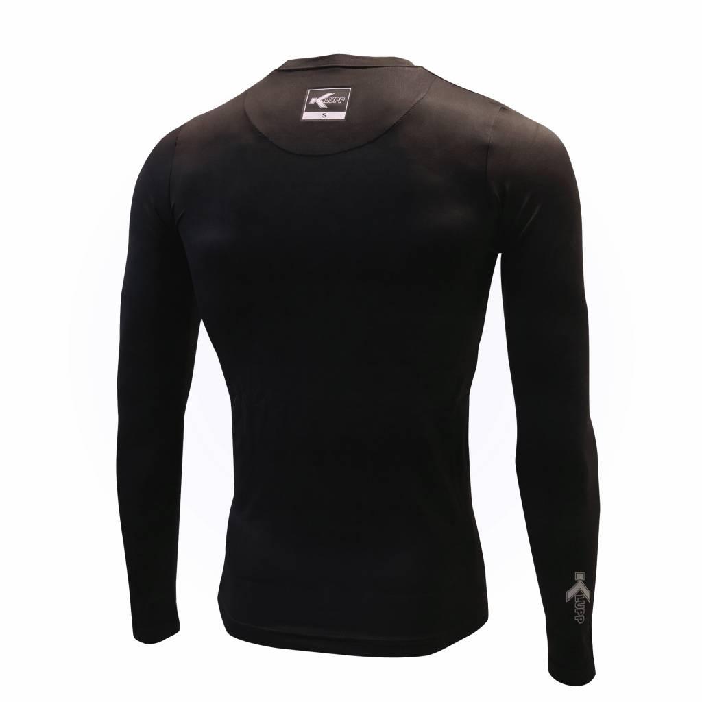 Thermo shirt lange mouw, Zwart
