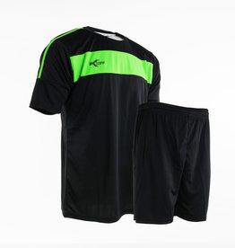 Training set Neon-Lijn, Zwart/Groen