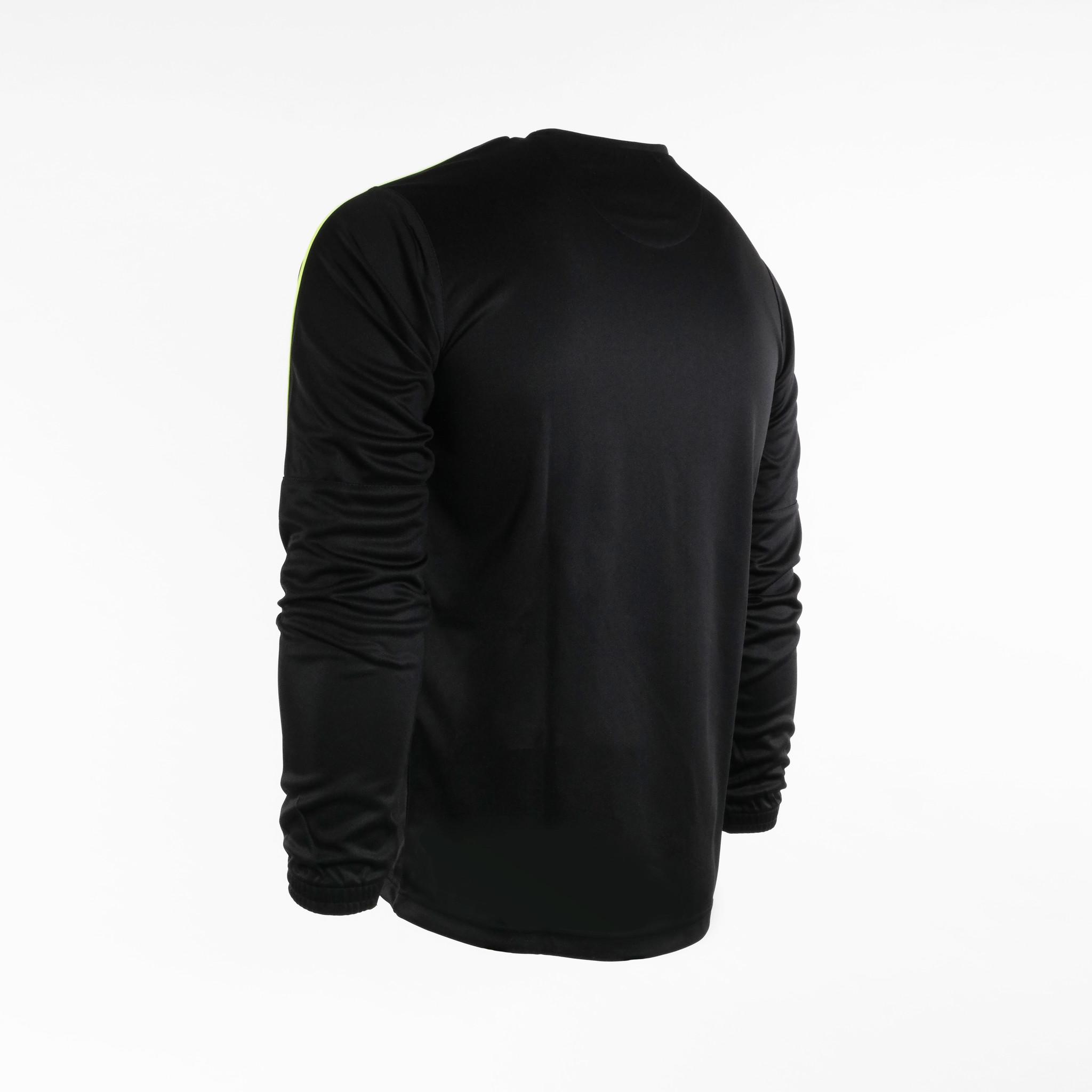 Training pak Neon-Lijn, Zwart/Geel