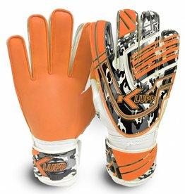 Klupp CAT Keeperhandschoenen Jeugd Zwart/Oranje (Maat 1 t/m 6)
