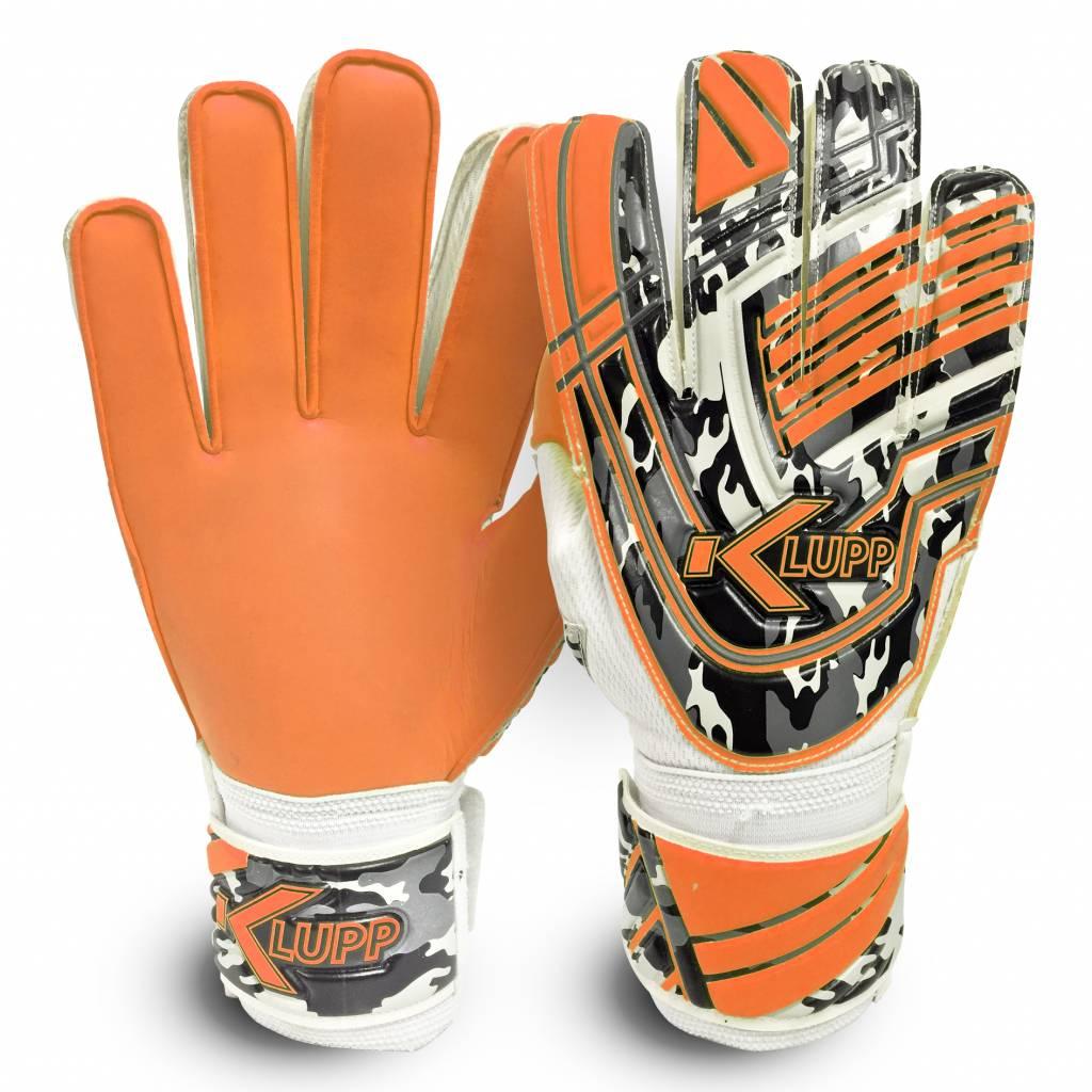 Keeperhandschoenen Jeugd Zwart/Oranje