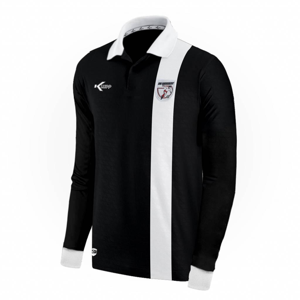 Klupp MAAT Keeper shirt Barendrecht slim fit, Zwart