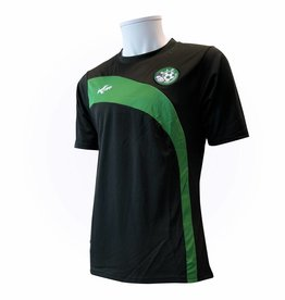 Training shirt SJZ, Zwart/Groen