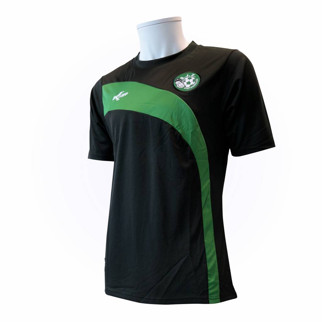 Klupp MAAT Training shirt SJZ, Zwart/Groen