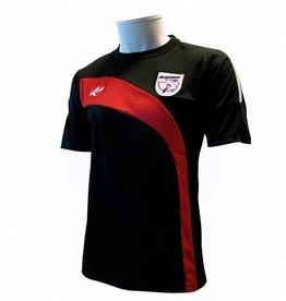 Training shirt Barendrecht, Zwart/Rood