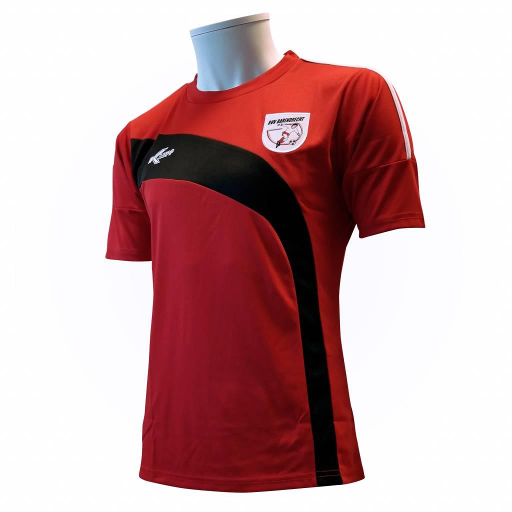 Klupp MAAT Training shirt Barendrecht, Rood/Zwart