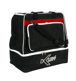 Klupp CAT Sporttas junior, Zwart/Rood