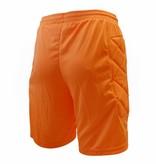 Klupp CAT Keeper short Neon met padding, Oranje