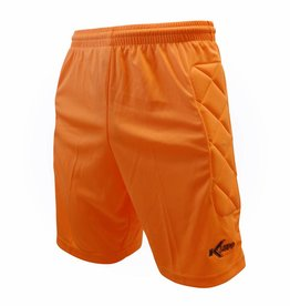 Klupp CAT Keeper short Neon met padding, Oranje