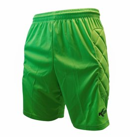 Keeper short Neon met padding, Groen