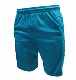 Keeper short Neon met padding, Blauw