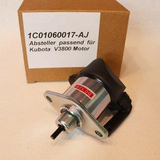 Kubota Absteller passend für Kubota V3800 und V3800-T Motor