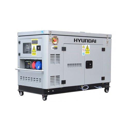 Hyundai HYUNDAI Diesel Generator DHY12000XSE-T D