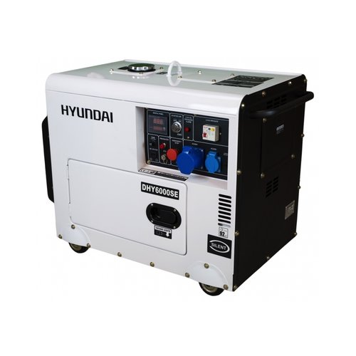 Hyundai HYUNDAI Diesel Generator DHY6000SE D